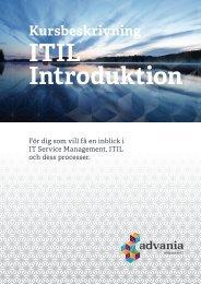 ITIL Introduktion