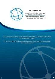 I Curso Internacional de Endoscopia Diagnóstica e Terapêutica da ...