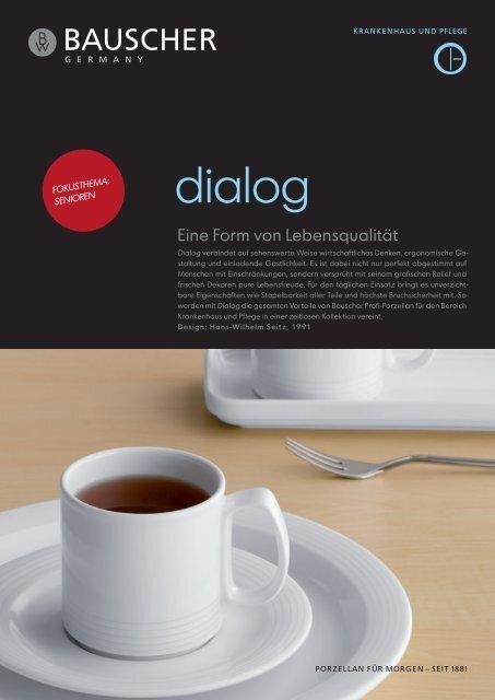 Seniorenverpflegung mit der Kollektion Dialog - Tomas Gefken