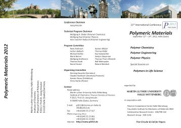 Biodegradable polymeric materials for osteosynthesis tutorial