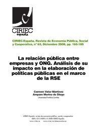 La relación pública entre empresas y ONG. Análisis de su impacto ...