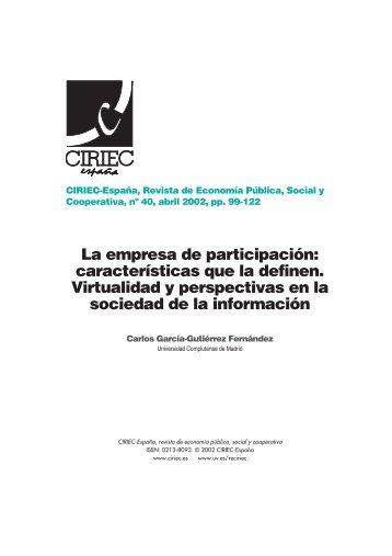 04 Garc.a G - CIRIEC-ESPAÑA | Revista de Economía Pública ...