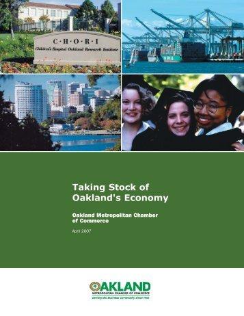 Taking Stock of Oakland's Economy