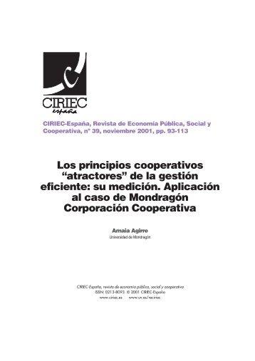 05 Agirre - CIRIEC-ESPAÑA | Revista de Economía Pública, Social ...