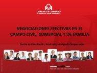 NEGOCIACIONES EFECTIVAS EN EL CAMPO CIVIL COMERCIAL Y DE FAMILIA