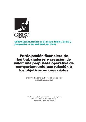 03 Lejarriaga - CIRIEC-ESPAÑA | Revista de Economía Pública ...