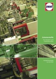 Schmierstoffe - Georg Oest Mineralölwerk GmbH & Co. KG