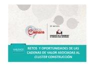 CADENAS DE VALOR ASOCIADAS AL CLUSTER CONSTRUCCIÓN