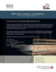 BIM Process Adoption and Integration