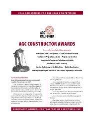 AGC Constructor Awards