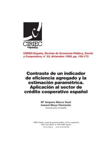 07 CIRIEC 33 Marco y Moya - CIRIEC-ESPAÑA | Revista de ...