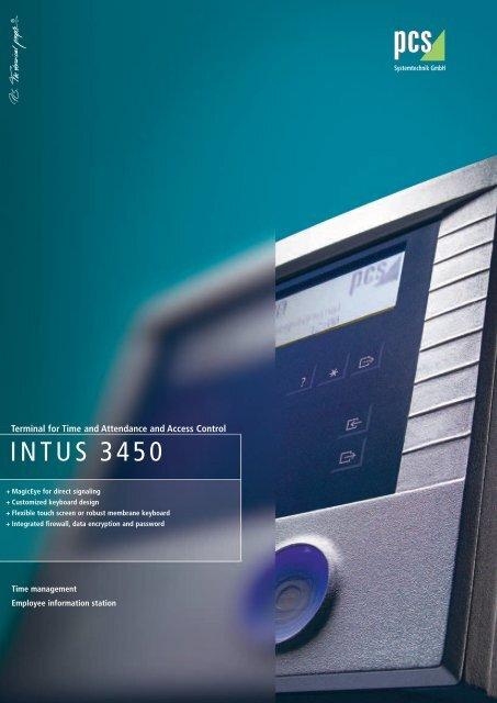 INTUS 3450 - PCS Systemtechnik GmbH