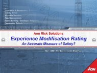 Experience Modification Rating