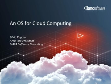 An OS for Cloud Computing