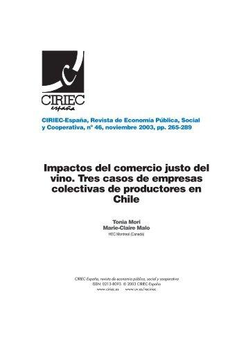 10Mori 46 - CIRIEC-ESPAÑA | Revista de Economía Pública, Social ...