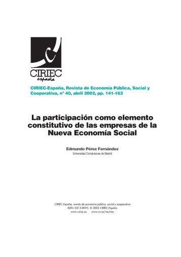 06 Edmundo - CIRIEC-ESPAÑA | Revista de Economía Pública ...