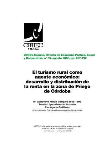 388 Millan et al ok.qxd - CIRIEC-ESPAÑA | Revista de Economía ...