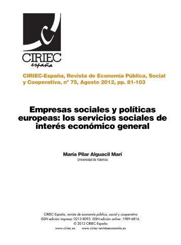 10 Server y Villalonga.qxd - CIRIEC-ESPAÑA | Revista de ...