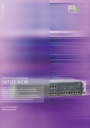 intus - PCS Systemtechnik GmbH