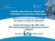 Estado actual de los criterios del tratamiento en personas infectadas