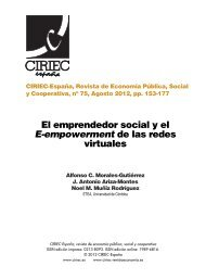 El emprendedor social y el E-empowerment de las redes virtuales