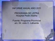 NEA / Informe Anual Lepra 2011