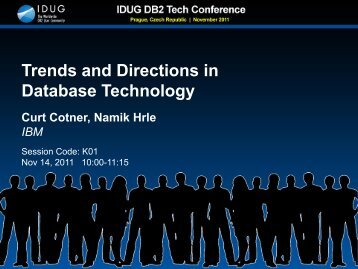 Trends and Directions in Database Technology