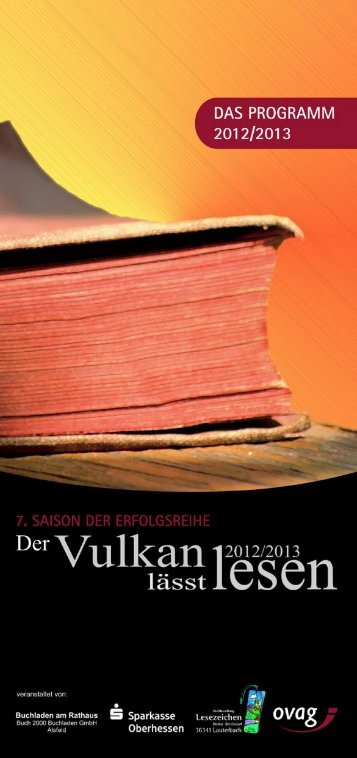 Der Vulkan lässt lesen - OVAG Oberhessische Versorgungsbetriebe ...