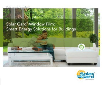 Solar Gard Window Film Smart Energy Solutions for Buildings