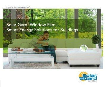 Solar Gard Window Film Smart Energy Solutions for Buildings