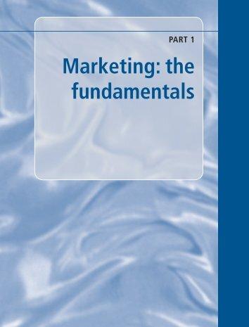 Marketing: the fundamentals - Oxford University Press