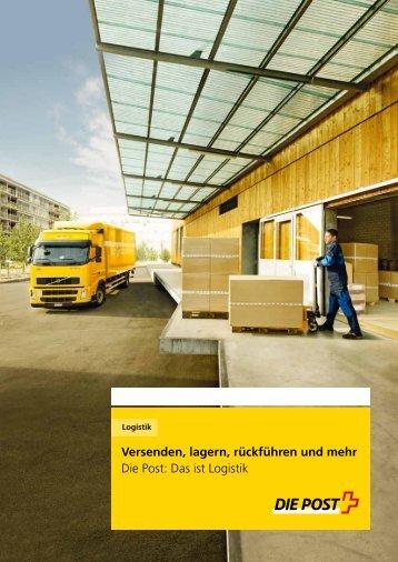 Logistik: Versenden, lagern, rückführen und mehr. - Die ...