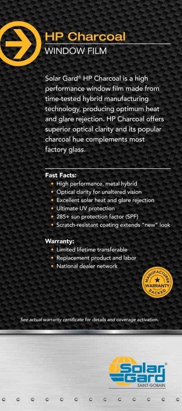 HP Charcoal - Solar Gard