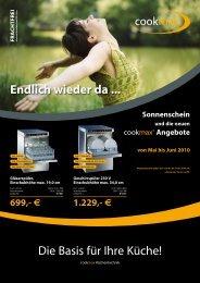 Cookmax-Katalog öffnen - Porzellan