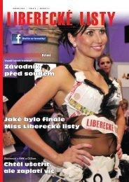 Závodník před soudem Jaké bylo finále Miss Liberecké listy