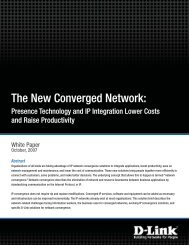 The New Converged Network
