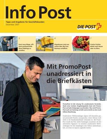 InfoPost - Die Schweizerische Post