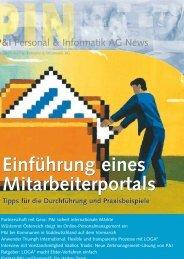schwerpunkt - Personal & Informatik AG