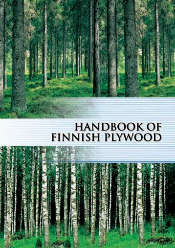 Handbook of Finnish plywood
