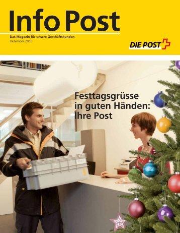 Info Post Dezember 2010Link wird in einem - Die Schweizerische Post