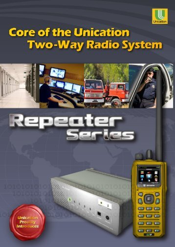 Repeater Brochure - Unication