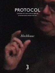 Hochhaus - protocol magazine