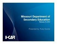 Missouri Department of Secondary Education
