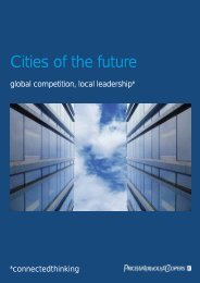 Cities of the future - global competition, local leadership - PwC