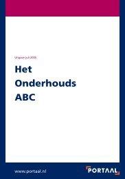 Het Onderhouds ABC