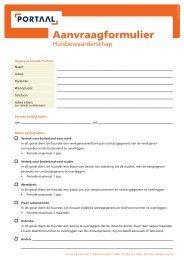 Formulier Huisbewaarderschap (kleur).indt - Portaal