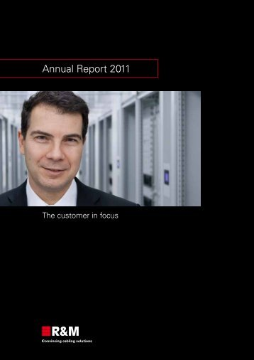 Annual Report 2011 (1.09 MB) - R&M