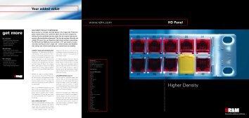 HD Panel - R&M