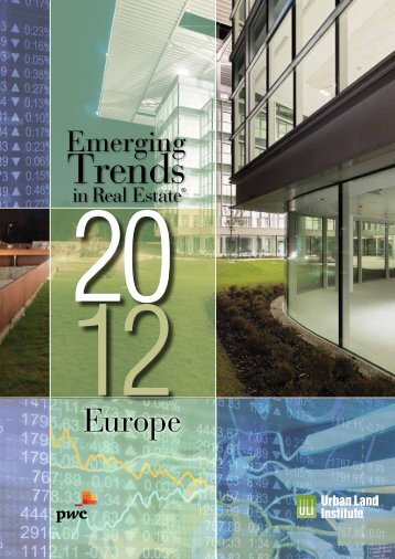 Emerging Trends in Real Estate® Europe 2012 - PwC