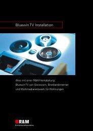 Bluewin TV Installation - R&M